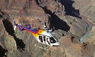 ラスベガス発オプショナルツアー シーニック航空で行くグランドキャニオンウエスト スカイウォーク&ヘリ遊覧&川下り