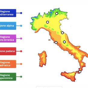 ESERCIZIO IL CLIMA IN ITALIA
