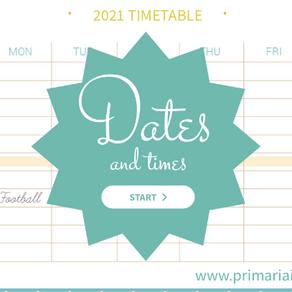 ESERCIZIO DATE E ORARI - DATES AND TIMES