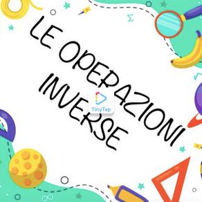 ESERCIZIO LE OPERAZIONI INVERSE
