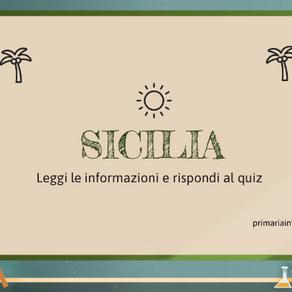 PRESENTAZIONE E QUIZ LA SICILIA