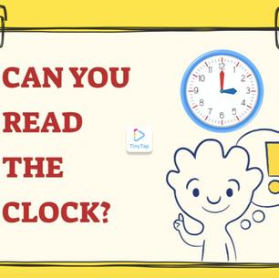 TO READ THE CLOCK - LEGGERE L'OROLOGIO