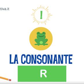 """PRESENTAZIONE DELLA CONSONANTE """"R"""""""
