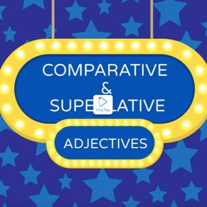 ESERCIZIO AGGETTIVI COMPARATIVI E SUPERLATIVI - EXERCISE COMPARATIVE AND SUPERLATIVE ADJECTIVES