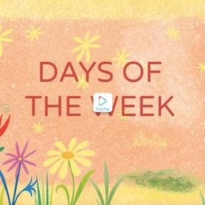 ESERCIZIO I GIORNI DELLA SETTIMANA - DAYS OF THE WEEK