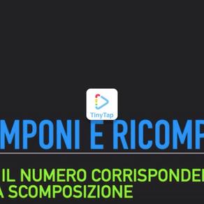 ESERCIZIO SCOMPONI E RICOMPONI