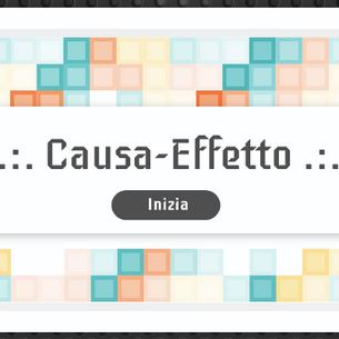 ESERCIZIO CAUSA-EFFETTO