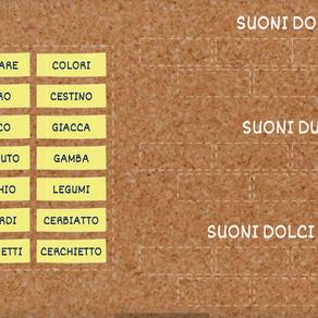 """ESERCIZIO SUONI DOLCI E DURI CON """"C"""" E """"G"""""""