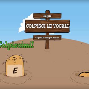ESERCIZIO COLPISCI LE VOCALI