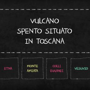 ESERCIZIO I VULCANI D'ITALIA