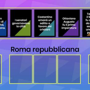 ESERCIZIO PERIODI DELLA STORIA ROMANA