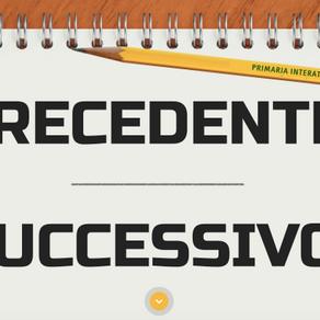 ESERCIZIO PRECEDENTE E SUCCESSIVO