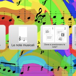 ESERCIZIO LE NOTE MUSICALI