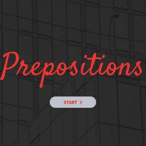 ESERCIZIO LE PREPOSIZIONI - PREPOSITIONS