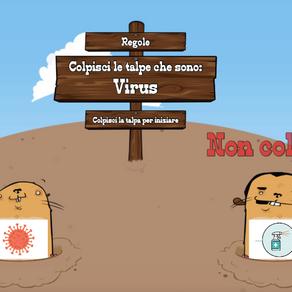 GIOCO COLPISCI IL VIRUS