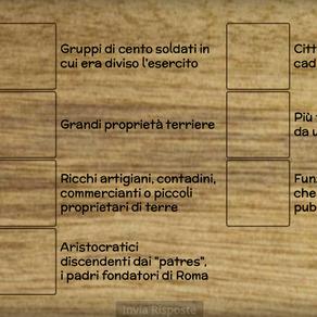 ESERCIZIO ROMA - DEFINIZIONI