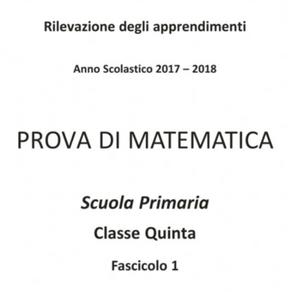 2017/2018 - PROVA DI MATEMATICA