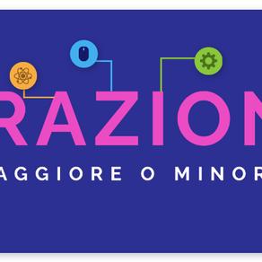 ESERCIZIO LE FRAZIONI - MAGGIORE O MINORE