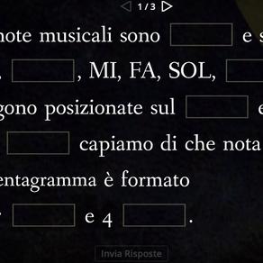 ESERCIZIO LA TEORIA MUSICALE