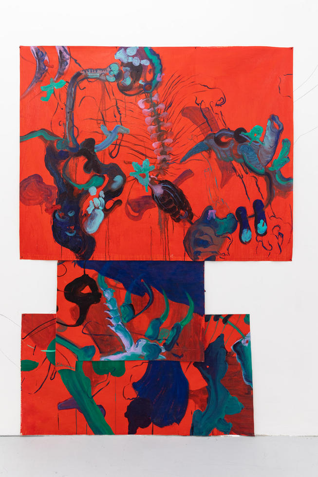 Untitled, (the red series)
