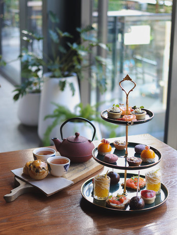 High Tea with unlimited tea