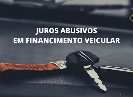 REVISÃO DE JUROS ABUSIVOS EM FINANCIAMENTO DE VEÍCULOS