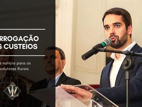 Eduardo Leite anuncia prolongamento de custeios por conta da Estiagem.