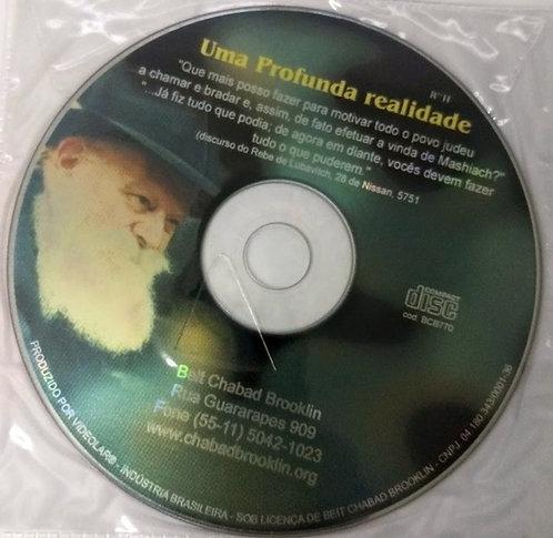 CD Uma Profunda realidade - Rebe de Lubavitch