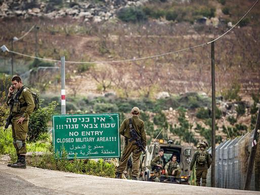 Incidente na fronteira com o Líbano