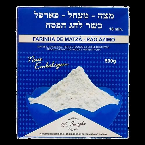 Farinha de Matzá Pão Ázimo Kosher 500g