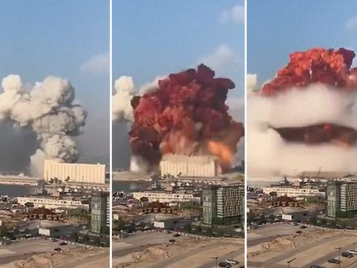 """Mais de 100 mortos e 4.000 feridos em Beirute: """"Como uma bomba atômica"""""""