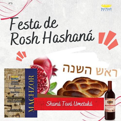 Machzor + ingresso festa Rosh Hashaná