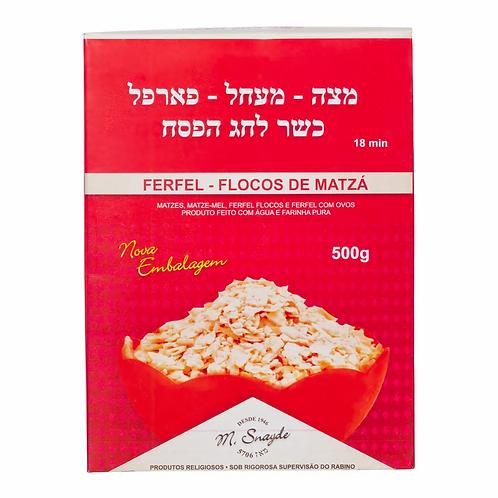 Flocos de Matzá Ferfel M. Synayde Kosher 500g