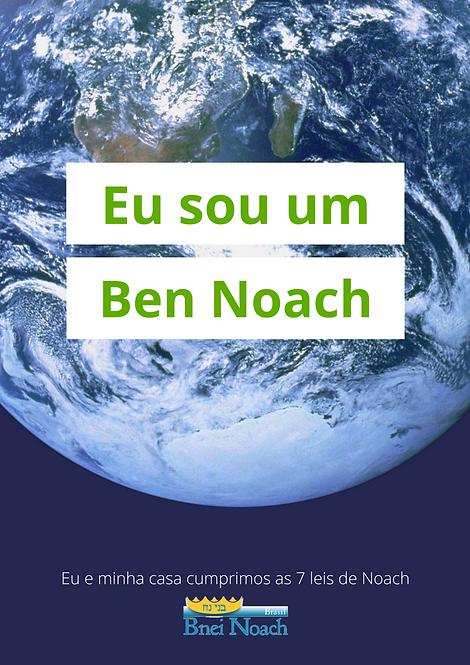 Quadro Eu sou um Ben Noach