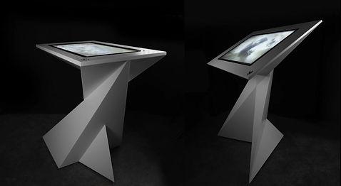 Présentation mobilier tactile gamme origami