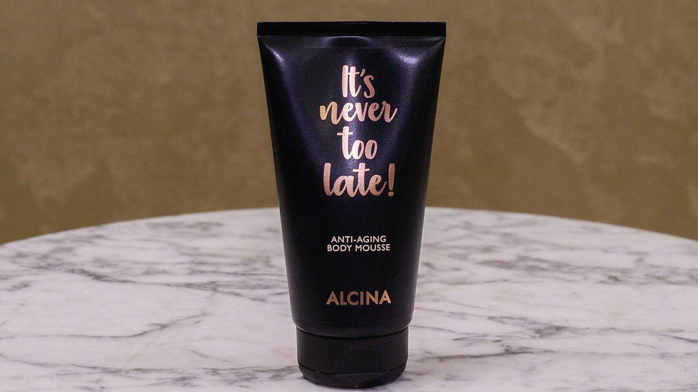 It's Never Too Late -Body Mousse