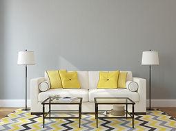 白色的沙發