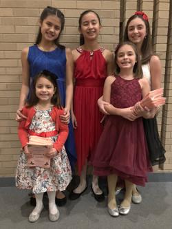5 Young People's Choir members