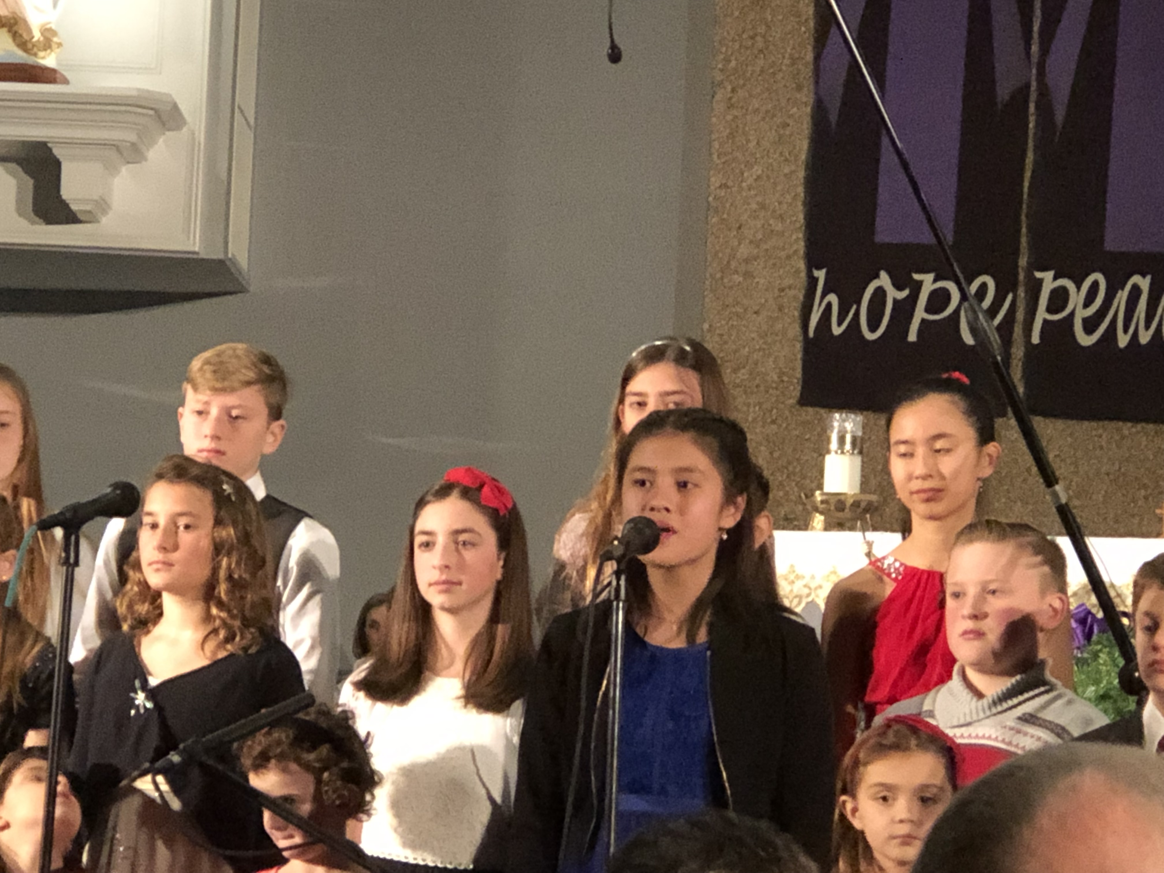 Young People's Choir concert