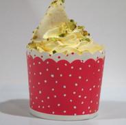 Rasmalai cupcake