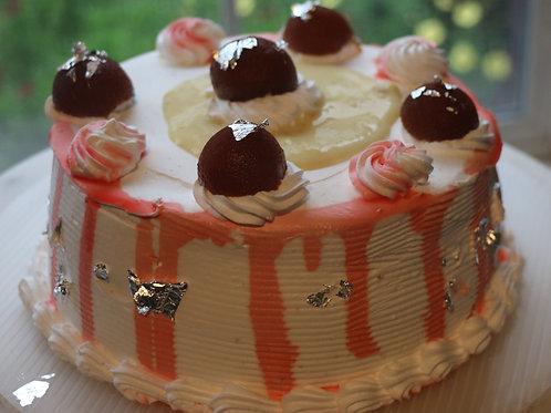 Gulab Jamun Rabdi Cake