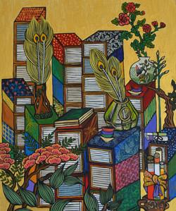 (sold)-Minwha (Korean Folk Art) #2
