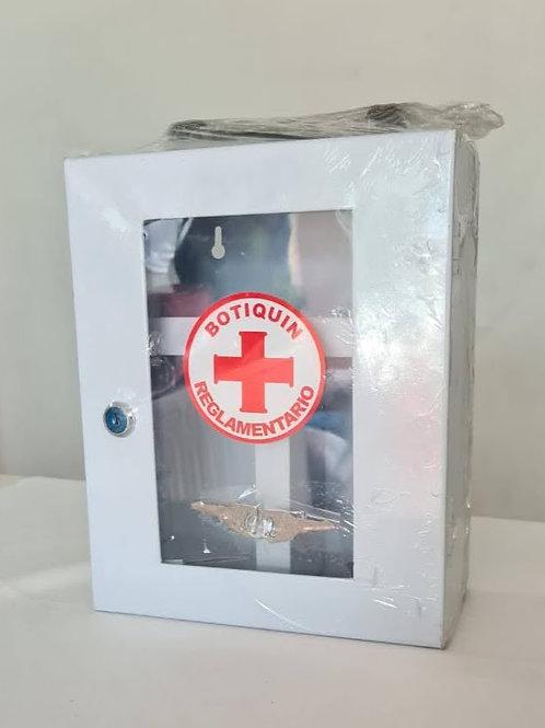 Caja metálica botiquín 25 x 20 cm vacía