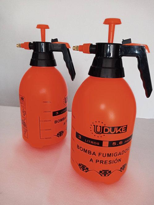 Bomba a presión rociador 3 litros