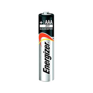 Pila alcalina triple A Energizer