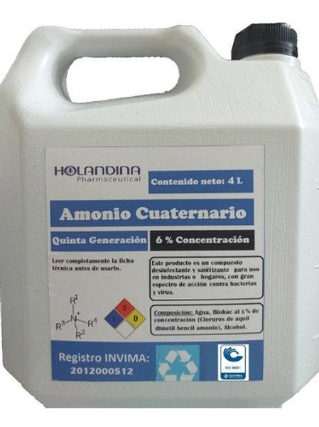 Amonio Cuaternario Quinta Generación al 1%