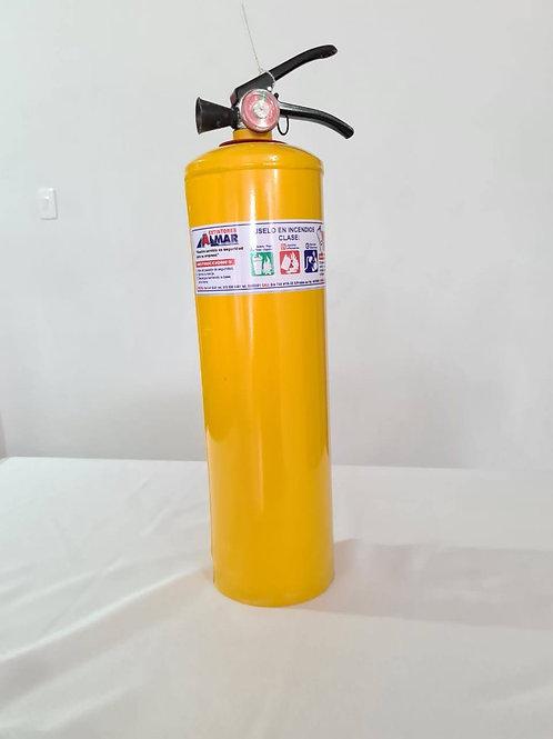 Extintor de 10 libras tipo ABC