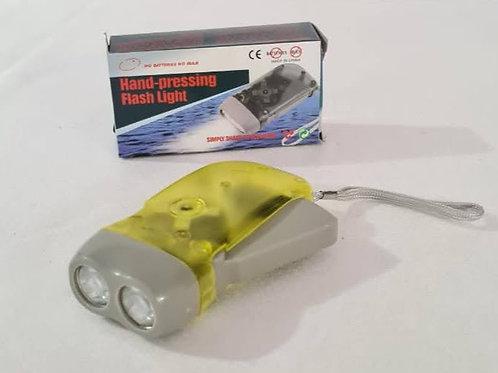 Linterna led autorecargable no requiere baterías