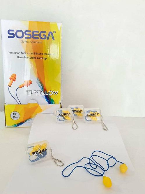 Protector auditivo tipo inserción TP Yellow marca Sosega