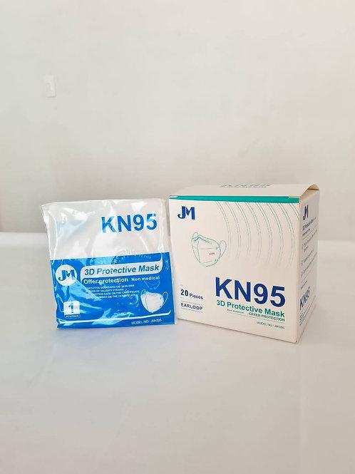 Tapabocas KN95 cinco capas certificado INVIMA